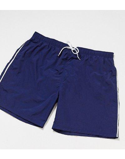 Costume Navy uomo Pantaloncini da bagno lunghi blu navy - Duke