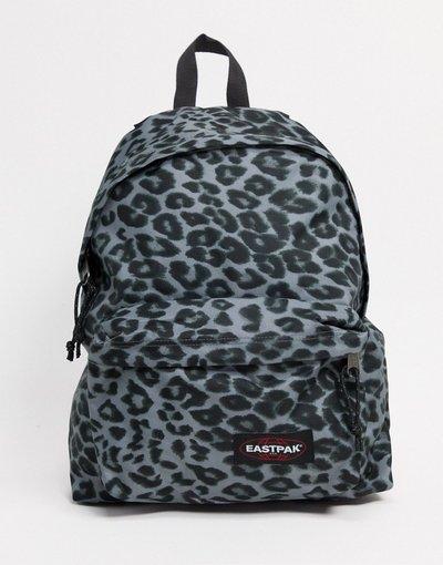 Borsa Multicolore donna Zaino imbottito con stampa grigia leopardata - Multicolore - Eastpak