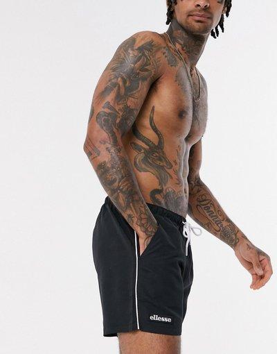 Costume Nero uomo Pantaloncini da bagno neri - Dem Slackers - ellesse - Nero