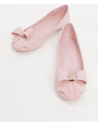 Ballerine Rosa donna Ballerine con fiocco rosa - Esclusiva Ted Baker - Suallyz