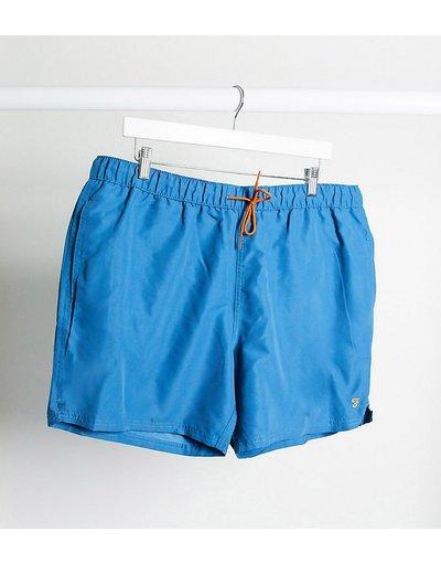 Costume Blu uomo Pantaloncini da bagno con logo blu - Colbert - Farah