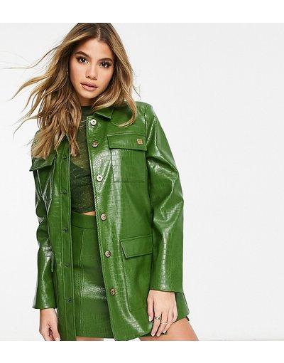 Verde donna Giacca con abbottonatura verde coccodrillo - Fila