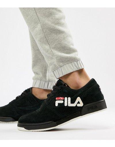 Nero uomo Sneakers nere con logo - Original Fitness - Fila - Nero