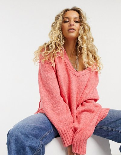 Rosa donna Free People - Tunica rosa - Brookside