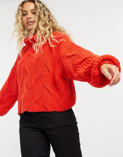 Rosso donna Seasons change - Maglione rosso - Free People
