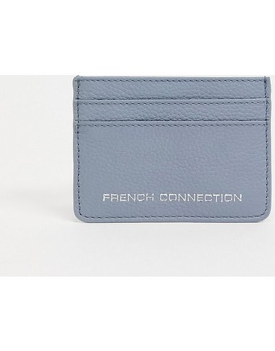 Borsa Blu donna Portacarte in pelle azzurra - French Connection - Blu