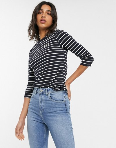 Multicolore donna French Connection tim tim amour embr top - Multicolore