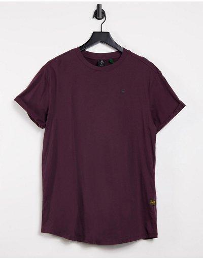 T-shirt Rosso uomo shirt bordeaux - Lash - Star - Rosso - T - G