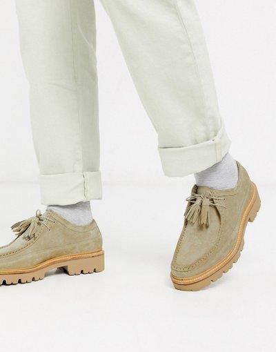 Novita Beige uomo Desert boots beige scamosciato - Bennett - Grenson