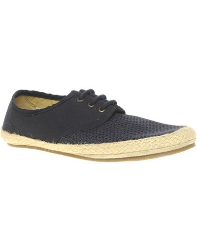 Navy uomo Scarpe con parte frontale in tessuto - H By Hudson - Cayman - Navy
