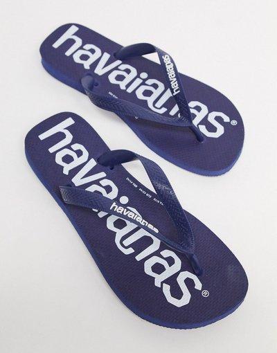 Infradito Navy uomo Infradito blu navy - Logomania - Havaianas