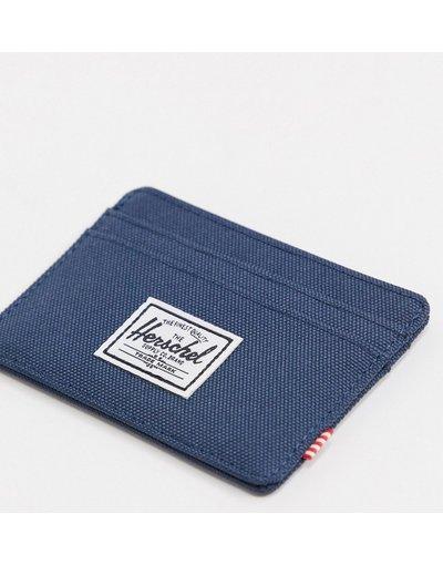 Portafoglio Navy uomo Portacarte blu navy - Herschel Supply Co - Charlie