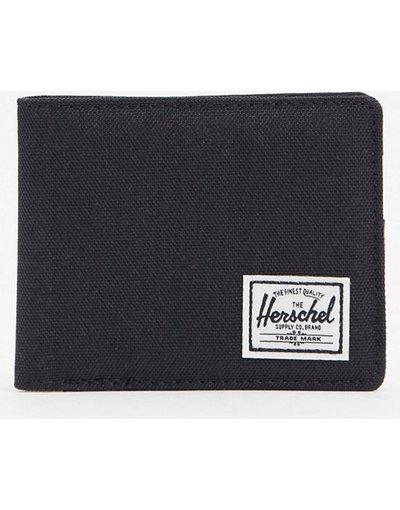 Portafoglio Nero uomo Portafoglio nero con protezione da RFID - Herschel Supply Co - Roy
