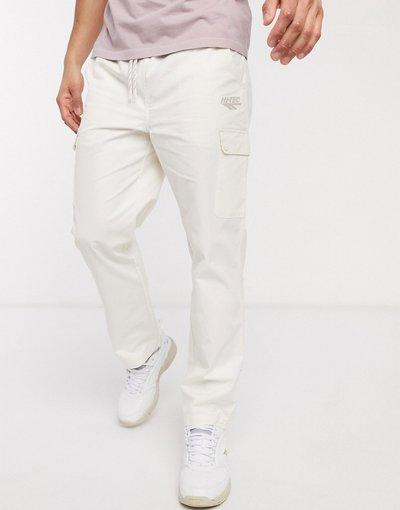 Pantalone Bianco uomo Pantaloni cargo bianchi - Bianco - Tec - Hi