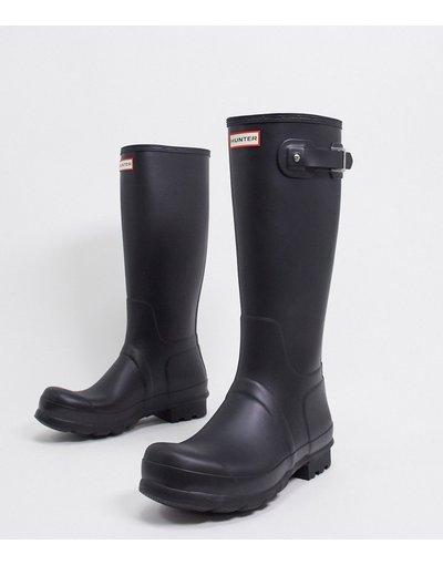 Novita Nero uomo Stivali da pioggia alti neri - Hunter Original - Nero