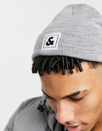 Cappello Bianco uomo Berretto con logo bianco - Jack&Jones