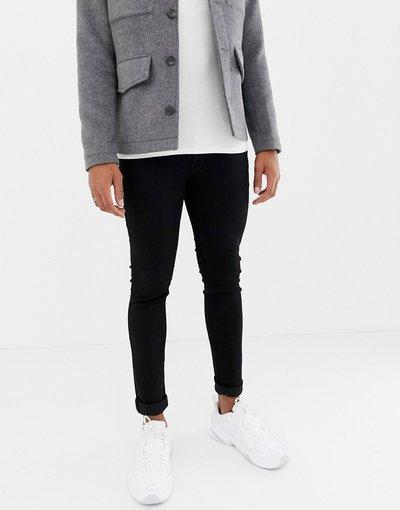 Jeans Nero uomo Jack&Jones Intelligence - Jeans skinny neri - Nero