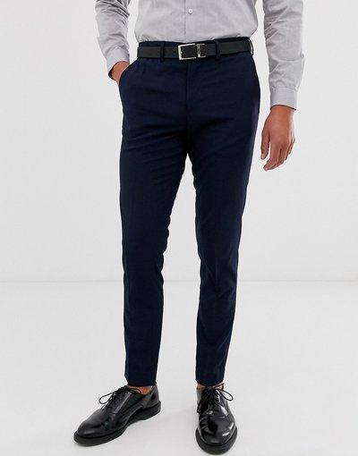 Navy uomo Pantaloni eleganti slim blu navy - Jack&Jones Intelligence