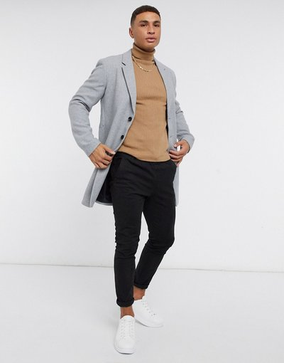 Grigio uomo Soprabito grigio chiaro - Jack&Jones Premium