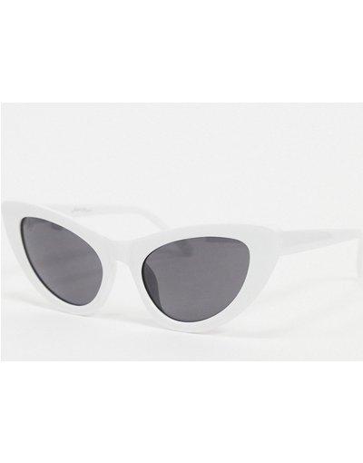 Occhiali Bianco uomo Occhiali da sole cat - Jeepers Peepers - eye bianchi - Bianco