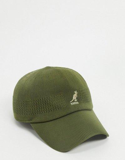 Cappello Verde uomo Cappello con visiera kaki - Tropic - Kangol - Verde