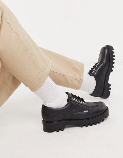 Scarpa elegante Nero uomo Scarpe derby chunky nere - Kickers - Kizzy - Nero