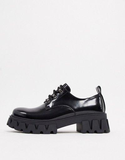 Novita Nero uomo Scarpe chunky vegan stringate - Koi Footwear - Nero