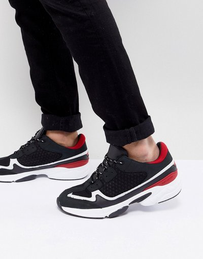Nero uomo Kurt Geiger London - Sneakers nere - Ivanoe - Nero