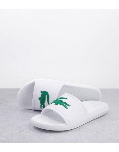 Novita Bianco uomo Slider bianche - Lacoste - Croco - Bianco