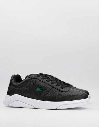 Sneackers Nero uomo Sneakers in nero e bianco - Game Advance - Lacoste