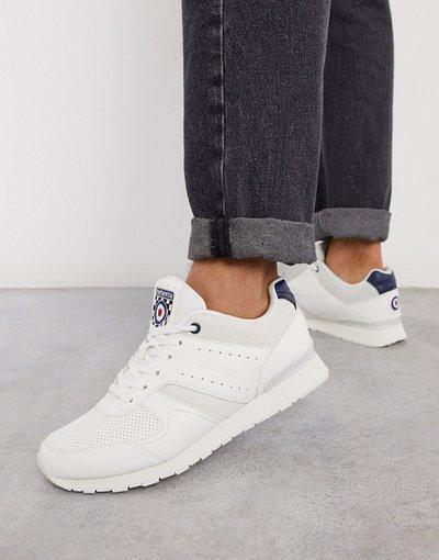 Sneackers Bianco uomo Sneakers da corsa bianche - Lambretta - Bianco