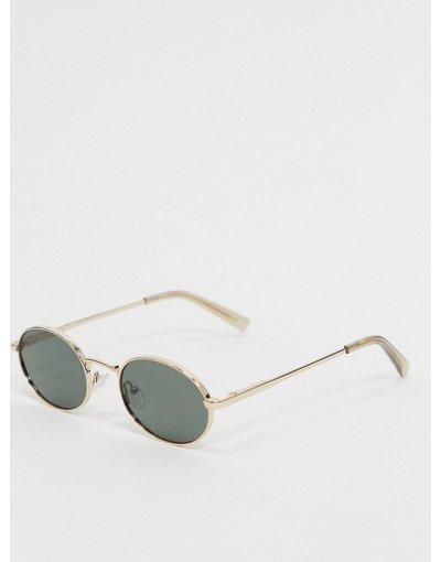 Occhiali Oro uomo Occhiali da sole rotondi oro - Le Specs