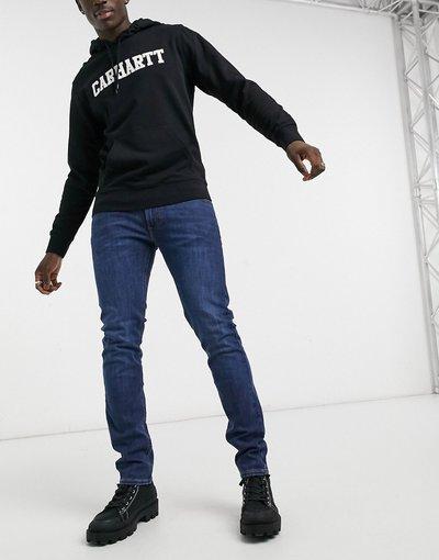 Jeans Blu uomo Jeans slim affusolati westwater scuro - Luke - Lee - Blu