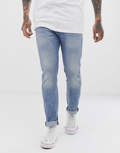 Maternita Blu uomo Jeans vita normale skinny lavaggio chiaro Nurse Warp Cool - Levi's - 510 - Blu