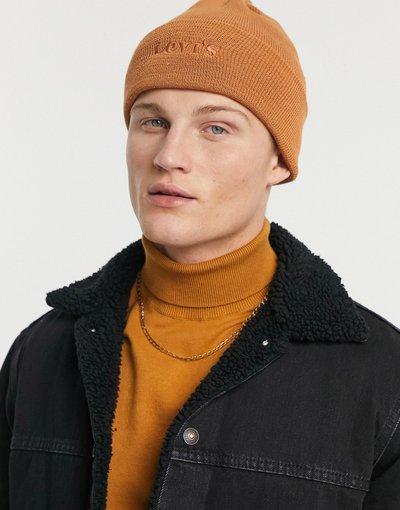 Cappello Cuoio uomo Berretto con logo color cuoio - Levi's