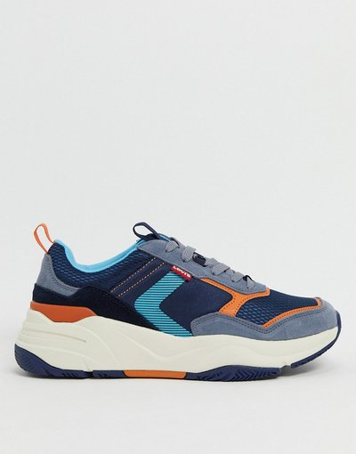 Sneackers Blu uomo Sneakers chunky da corsa - Eastman - Levi's - Blu