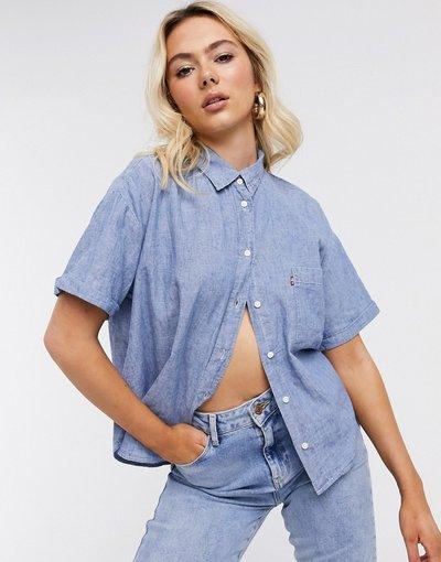 Camicia Blu donna Camicia lavaggio medio chiaro - Maxine - Levi's - Blu