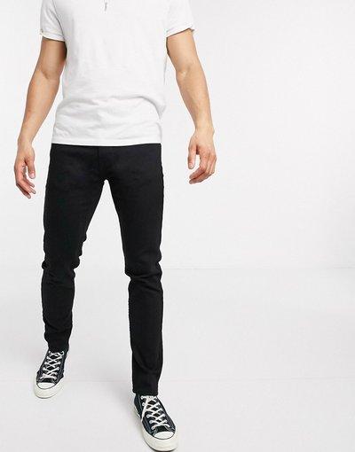 Jeans Nero uomo Jeans slim affusolati stretch avanzato Stylo neri - Levi's Youth - 512 lo - ball - Nero