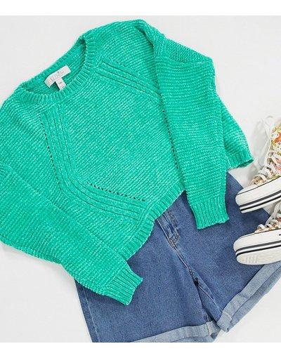 Verde donna Maglione corto verde - Liquorish