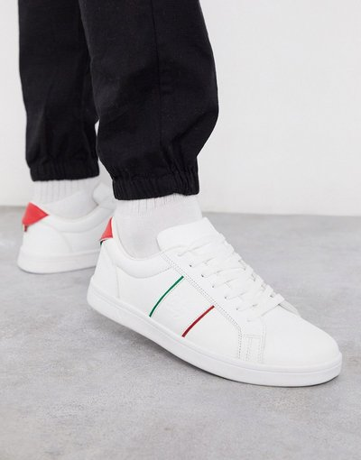 Sneackers Bianco uomo Sneakers bianche a righe - Loyalty&Faith - Collelo - Bianco