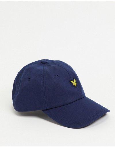 Cappello Blu navy uomo Cappellino blu navy con logo - Lyle&Scott