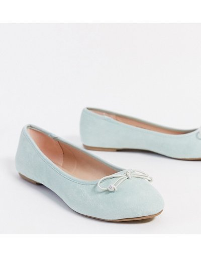 Scarpa bassa Verde donna Ballerine azzurro pastello - Miss Selfridge - Verde