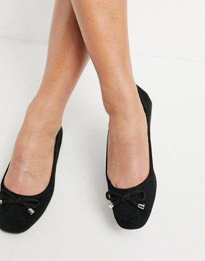 Scarpa bassa Nero donna Miss Selfridge - Ballerine nere - Nero