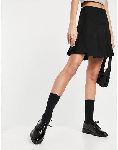 Scarpa bassa Nero donna Scarpe brogue stringate nere - Miss Selfridge - Nero