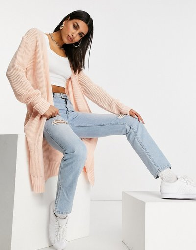 Rosa donna Cardigan oversize rosa - Missguided