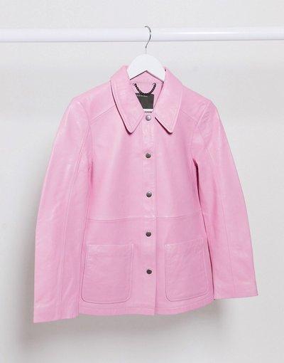 Rosa donna Camicia giacca rosa - Muuba