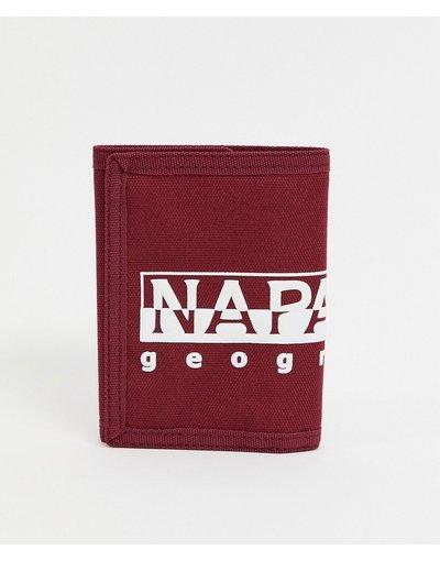 Portafoglio Rosso uomo Portafoglio bordeaux - Happy PC 2 - Napapijri - Rosso