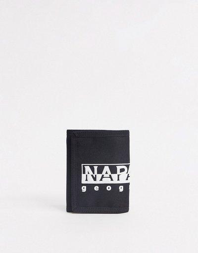 Portafoglio Nero uomo Portafoglio nero - Napapijri - Happy