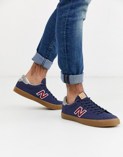 Sneackers Navy uomo Sneakers blu navy con suola in gomma - New Balance - 210