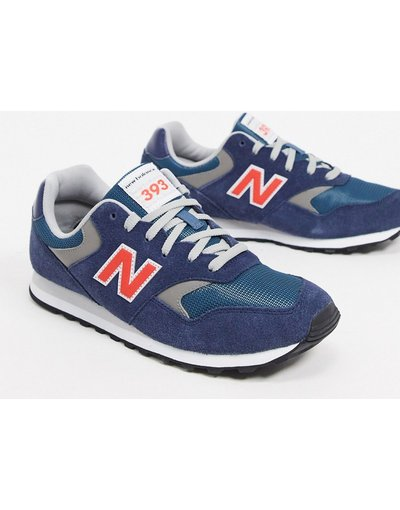 Sneackers Blu navy uomo Sneakers blu navy - New Balance - 393